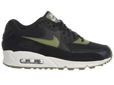NEW WOMENS NIKE AIR MAX 90 RUNNING SHOES TRAINERS BLACK / PALM GREEN / WHITE