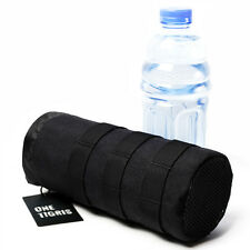 OneTigris Outdoor MOLLE Water Bottle Pouch Drawstring Tactical Bottle Holder