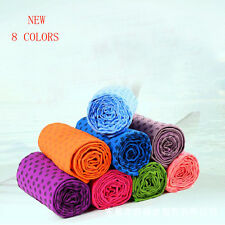 Sport Fitness Travel Exercise Yoga Mat Cover Towel Blanket Non-Slip Pilates