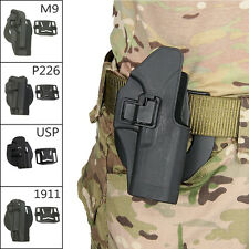 Tactical Concealed Carry Right Waist Paddle Belt Handgun Holster 1911G17M92 CL