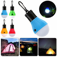 Outdoor Portable Hanging 3 LED Lamp Camping Tent Light Bulb Fishing Supplies