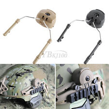 2Pcs Tactical Peltor Comtac ARC Adapter Helmet Side Rail Suspension Headset