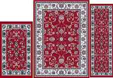 RUGS AREA RUG  TRADITIONAL PERSIAN STYLE ARIANA  3 PC ORIENTAL  5 X 7 AREA RUG