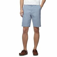 Maine New England Mens Big And Tall Pale Blue Chino Shorts From Debenhams