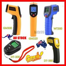 Handheld Digital LCD Temperature Thermometer Laser Non-Contact IR Infrared Gun O