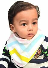 Flannel Baby Bandana Drool Bibs, Unisex Absorbent Cotton, Gift for Boy and Girl