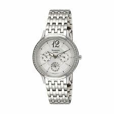 Casio Sheen Ladies Analog Watch Casual Silver Band SHE-3030D-7A
