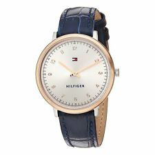 Tommy Hilfiger  Ladies Analog Watch Casual Blue 1781764 1781765