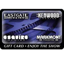 Esquire Theatre Group Gift Card - $25, $50 or $100  Fast Email delivery