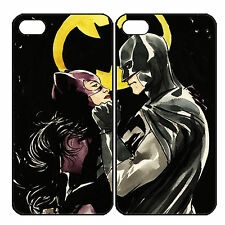 Catwoman and Batman Couple Custom Phone Case iPhone 6Plus 6s 6 5 5s 4 4s