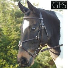 GFS Fieldhouse Mexican Grackle Bridle - Pony Sized - Black / Brown - CLEARANCE