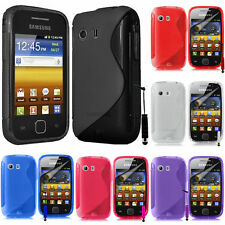 Cases for Samsung Galaxy Y Neo GT-S5360 Silicone Flip Case Cover Pouch