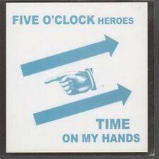 "FIVE O'CLOCK HEROES Time On My Hands 7"" VINYL UK Glaze 2004 B/W Back Of The"