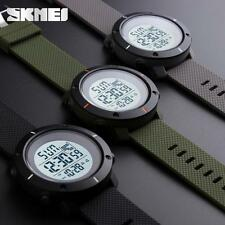 Casual Rubber LED Waterproof Watch Date Military Quartz Sport Wristwatches PRCA