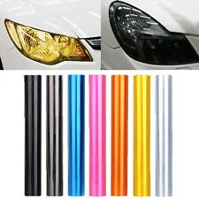 "12"" x 48"" Car Tint Headlight Taillight Fog Light Vinyl Smoke Film Sheet"