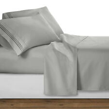 1800 Collection 4 Piece Deep Pocket Microfiber Bed Sheet Set