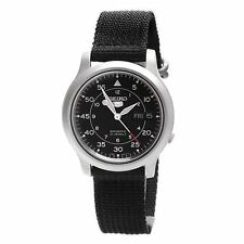 Seiko 5 Automatic Mens Analog Watch Casual Black SNK809K2