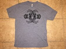 Jagermeister Gray 2 Deer Heads with Jager Bottle in Antlers T-Shirt