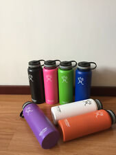 18/32/64oz Hydro Flask Insulated Stainless Steel Water Bottle Wide Mouth