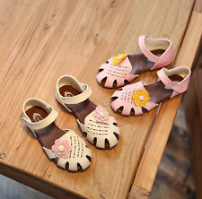 Girl Children Leather Sandals Kid Flower Shoes Princess Girls Dress Party Shoes