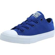 Converse Chuck Taylor All Star II Junior Sodalite Blue Textile Trainers Shoes