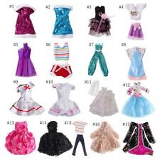 Fashion Doll Dress Clothes Gown Outfit for Barbie Dolls Liv Doll Momoko Doll