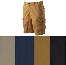 Urban Pipeline Mens Canvas Cargo Shorts Solid Cotton size 30 32 NEW