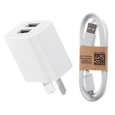 5V 2A AU Plug USB Travel Wall Charger Adapter Micro-USB Cable for Phone Tablet