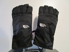 Mens The North Face TNF Waterproof Dryvent Shortie Ski Snowboard Gloves - Black