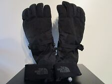 Mens The North Face TNF Waterproof Montana ETIP Ski Snowboard Gloves - Black