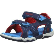 Timberland Adventure Seeker Youth Navy/Red Synthetic Flat Sandals