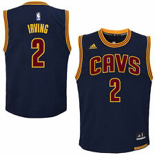 adidas Cleveland Cavaliers Youth Navy Blue Replica Alternate Jersey  - - NBA