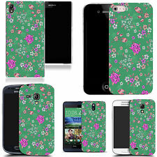 hard durable case cover for most mobile phones - floral culmination