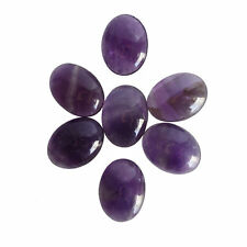 10X8MM Oval Shape, Amethyst Calibrated Cabochons AG-216