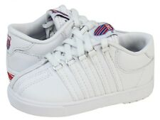 K-Swiss Classic 20100 White Infant's Toddler Leather Shoes Sneakers SZ. 3-10