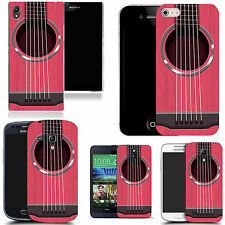 pattern case cover for many Mobile phones -   pink guitar strings