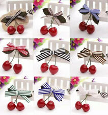 2pcs New Hairpin Clips Cherry Hot Baby Child Girl Hair Pin Hair Accessories
