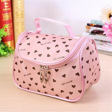 New Cosmetic Bag Lady Travel Organizer Accessory Toiletry Zipper Makeup Storage