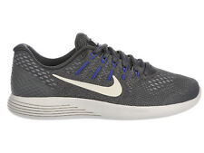 NEW MENS NIKE LUNARGLIDE 8 RUNNING SHOES TRAINERS DARK GREY / VOLT / PARAMOUNT