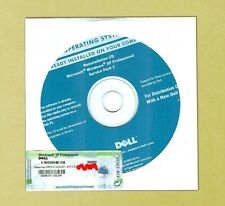 NEW Microsoft Windows XP Professional Disc w SP3, Pro COA and CD Product Key