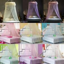 Elegant Round Lace Curtain Dome Princess Bed Canopy Netting Mosquito Net New