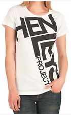 Henleys Womens 'Lockdown' White T-Shirt (New with Tag)