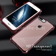 For iPhone 7 Plus Case Shockproof Crystal Clear Case Gel TPU Soft Cover Skin