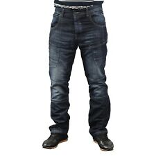Mens Jeans Cargo Combat Pants Straight Multi Pocket Branded Denim Trousers
