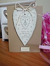 East of India Thank You for Being our Bridesmaid Card Personalised Wedding