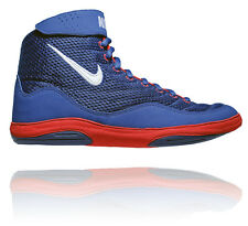 NIKE INFLICT 3 MENS WRESTLING SHOES DEEP ROYAL / WHITE / UNIVERSITY RED