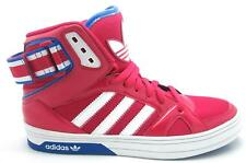 Womens ADIDAS SPACE DIVER W Pink Synthetic Hi Top Trainers Q33741