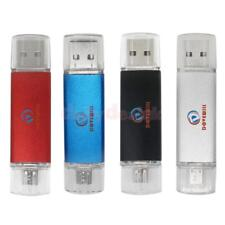 Mini 2 in 1 OTG Micro USB 2.0 Flash Pen Drive Memory Stick for Android Phone PC