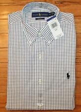 NWT Polo Ralph Lauren Mens Buttondown Dress Shirt Slim Fit White Pony Logo *3P
