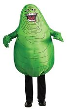 Ghostbusters Inflatable Slimer Adult Unisex Costume, Rubies, Green
